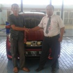 Foto Penyerahan Unit 11 Sales Marketing Mobil Dealer Honda Probolinggo Suthe