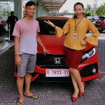 Foto Penyerahan Unit 11 Sales Marketing Mobil Dealer Honda Sinta