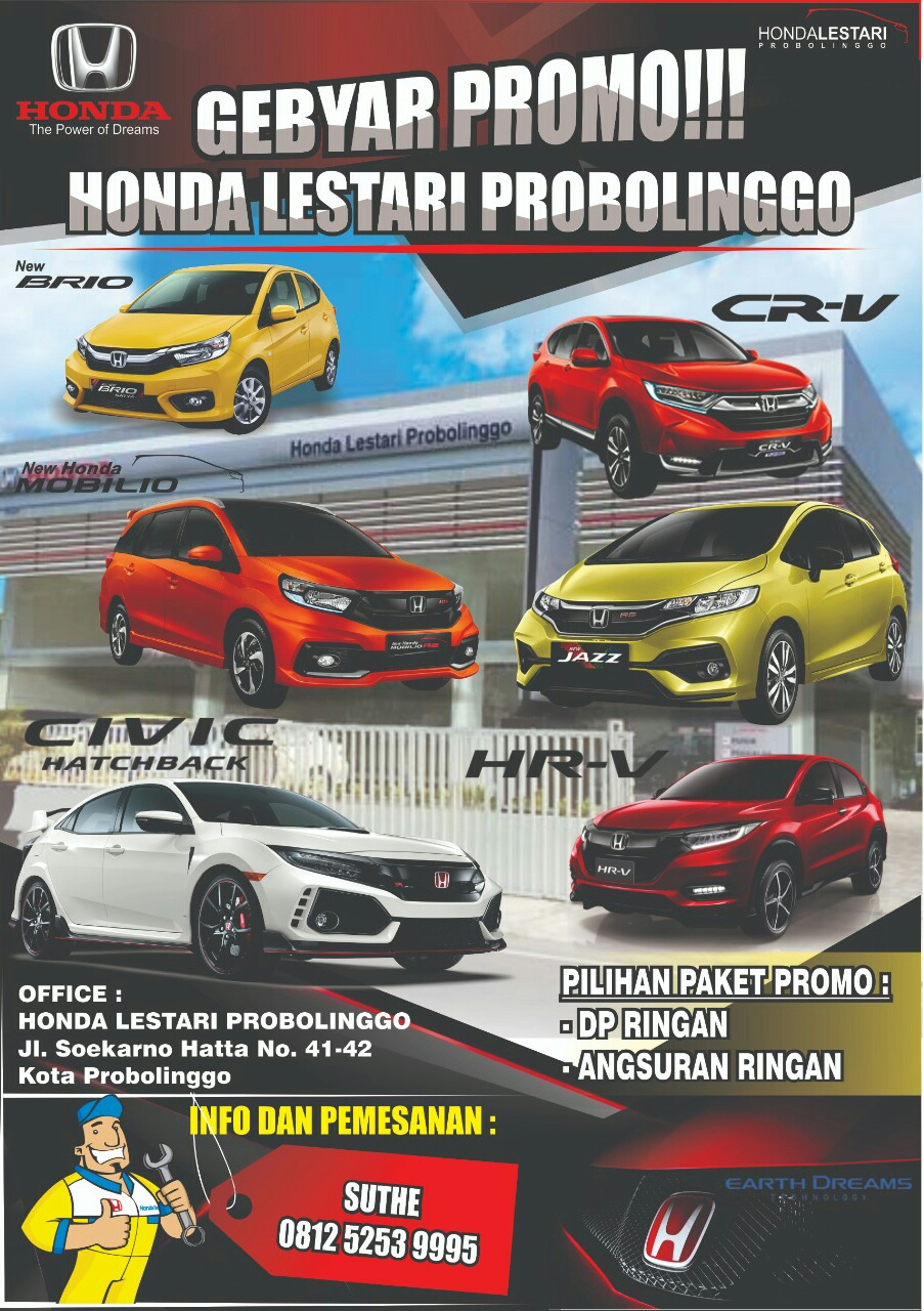 Promo Honda By Suthe