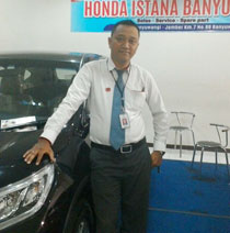 Sales Marketing Mobil Dealer Honda Banyuwangi Herdi