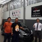 Foto Penyerahan Unit 5 Sales Marketing Mobil Dealer Honda Jakara Utara Tjhai Andre