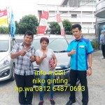 Foto Penyerahan Unit 5 Sales Marketing Mobil Dealer Suzuki Medan Niko Ginting