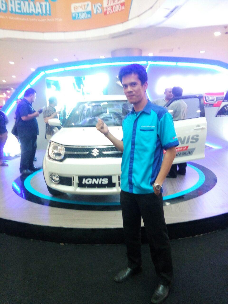 Sales Marketing Mobil Dealer Suzuki Medan Niko Ginting
