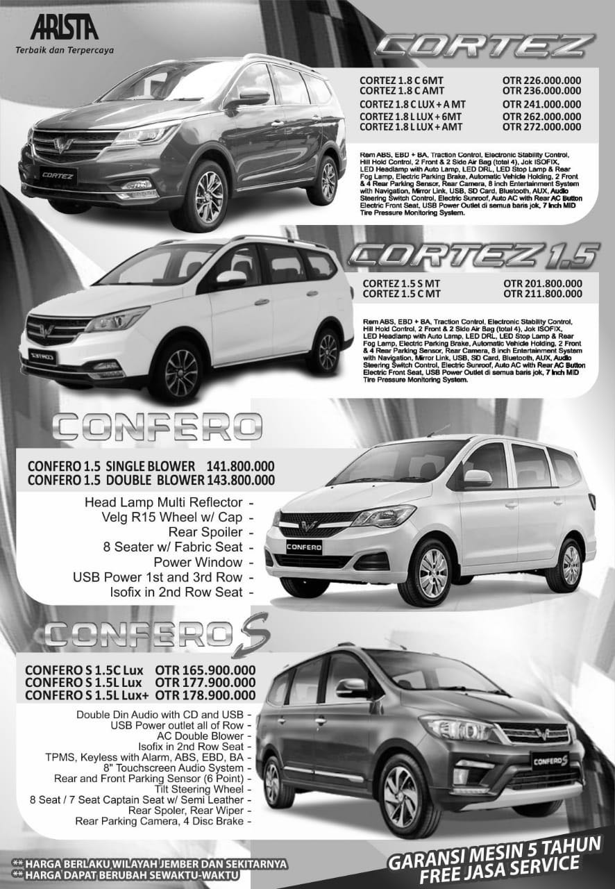 Harga Mobil Wuling By Marsam