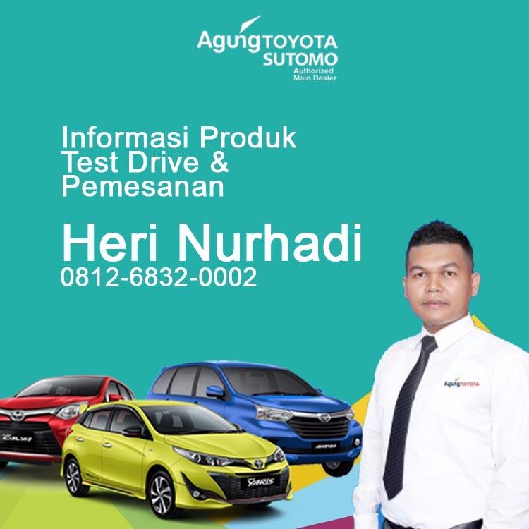 Sales Marketing Mobil Dealer Toyota Heri 2