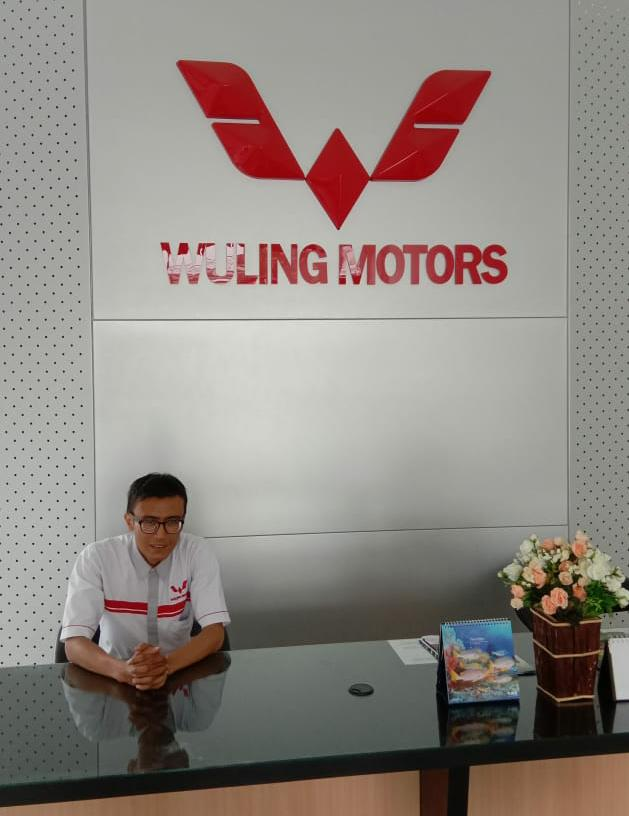 Sales Marketing Mobil Dealer Wuling Hariyanto