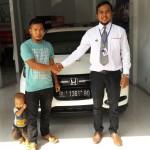 Foto Penyerahan Unit 11 Sales Marketing Mobil Dealer Honda Lhokseumawe Aulia