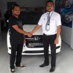 Foto Penyerahan Unit 16 Sales Marketing Mobil Dealer Honda Lhokseumawe Aulia