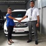 Foto Penyerahan Unit 17 Sales Marketing Mobil Dealer Honda Lhokseumawe Aulia