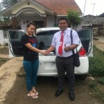 Foto Penyerahan Unit 4 Sales Marketing Mobil Dealer Honda Wonogiri Aan