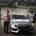 Foto Penyerahan Unit 1 Sales Marketing Mobil Dealer Honda Sumedang Fadli