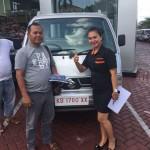 Foto Penyerahan Unit 4 Sales Marketing Mobil Dealer Suzuki Evi