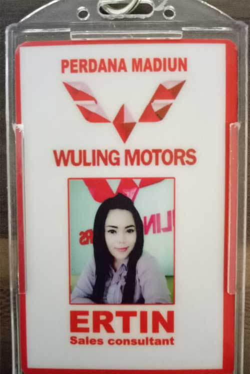 Sales Marketing Mobil Dealer Wuling Ertin